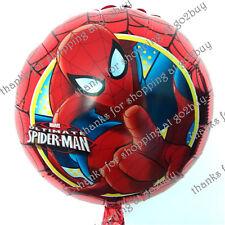 Cartoon Foil Balloon Spider-man B Birthday Party Decoration Round 45CM