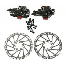 Avid BB7 Mechanical Disc Brake Bike Front and Rear Calipers 160mm G3 Rotors