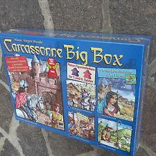 Carcassonne Big Box 2014 - Grundspiel mit Fluss und 4 Erweiterungen Neu / OVP