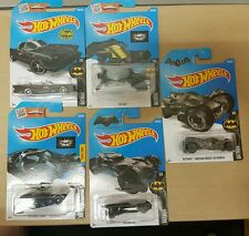 HOT WHEELS diecast car SET BATMAN FULL SET 1 - 5 COMPLETE lot #2