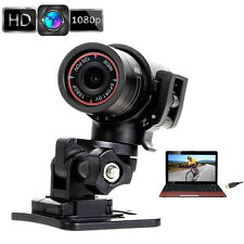 1080P HD Bike Motorcycle Helmet Sports Mini Action Camera Video DVR DV Camcorder