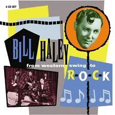 BILL HALEY - FROM WESTERN SWING TO ROCK 4 CD NEU