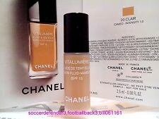 [CHANEL] Vitalumiere Satin Smoothing Fluid Makeup SPF15 2.5ML#20 CLAIR NEW