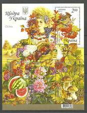 Ukraine - Herbst postfrisch 2013 Mi.1361-1364 Block 114