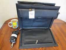 Briefcase Document Organiser Case laptop case leather case carry case script bag