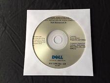 Dell Latitude D610 D810 X1 D400 D510 D410 XP Drivers CD DVD Disc