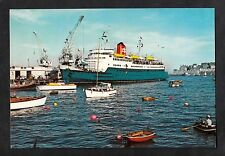 C1970s View of Channel Islands Mail Steamership