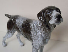 ROSENTHAL GERMAN WIRE-HAIRED Wirehaired POINTER DOG PORCELAIN FIGURINE #830