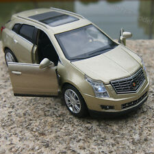 Cadillac SRX SUV 1:32 Alloy Diecast Model Cars Sound&Light Champagne Gold Gifts