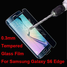 New Genuine Tempered Glass Screen Protector Film For Samsung Galaxy S6 Edge
