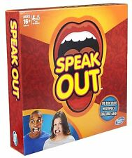 IN STOCK NOW !!! Genuine Hasbro Brand New Speak Out Board Game Hot