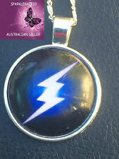 BRAND NEW 2016 MARVEL THE FLASH WITH SILVER NECKLACE SUPERHERO,COSPLAY,AUS 96