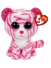 ASIA THE PINK TIGER TY BEANIE BOOS  BRAND NEW