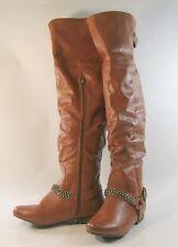 Shiekh Women&39s Zip Over Knee Boots | eBay