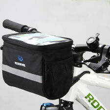 Bicycle Handlebar Bag Bike Cycle Reflective Front Pannier Waterproof Outdoor New