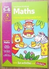 Year 1 Maths Educational Activity Book Home Learning Children Age 5 6 Workbook
