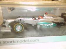 NEW Diecast SPARK F1 ~ 1:43 Michael Schumacher ~ Mercedes AMG W03 ~ Monaco 2012