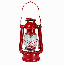 Dimmable Portable Hurricane Lantern 15 LED Light Camping Tent Carry Lamp ~ RED