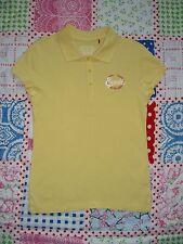 ESPRIT T-Shirt Poloshirt Shirt gelb uni weiß rot Gr S 36 38