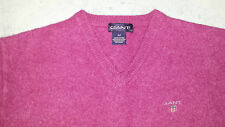 GANT Ladys Wool V-Neck Jumper Size: M in VERY GOOD Condition