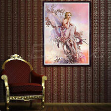 DIY 5D Fairy Butterfly Diamond Embroidery Painting Cross Stitch Home Wall Decor