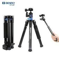 Benro IS05 Tripod Kit Aluminum Alloy Ball Head 5 Sections Max Load 15kg SLR N3E6