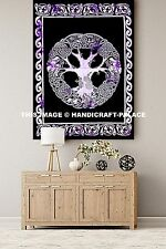 Celtic Tree of Life Indian Tapestry Wall Hanging Hippie Bohemian Beach Throw Art