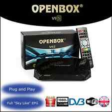 OPENBOX V9S SATELITE RECEIVER + 36 MONTHS WARRANTY GIFT PLUG & PLAY