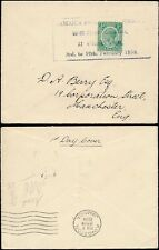 STAMP EXHIBITION 1938 JAMAICA PHILATELIC SOCIETY COVER
