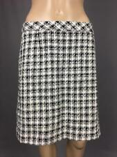 ** LAUNDRY BY SHELLI SEGAL ** Size 6 (AU 10) Black White Womens Corporate Skirt