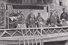 China - Schauspieler auf der Bühne - um 1920 - RAR - Chinesische Oper