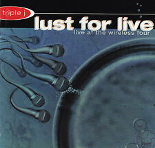 TRIPLE J - LUST FOR LIVE / VARIOUS ARTISTS - 2 CD SET
