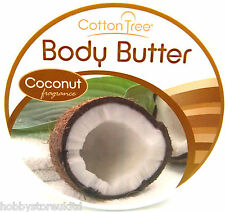 Cotton Tree Body Butter Coconut Cream Coconut Lotion Body Lotion Fragrance 200g