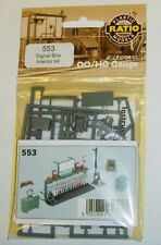 Ratio 553 - Signal Box Interior Kit - New.(00) Railway Model