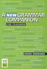 A New Grammar Companion for Teachers by Beverly Derewianka (Paperback, 2011)
