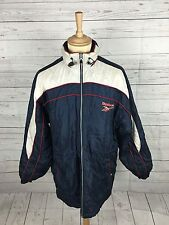 Mens Reebok Retro Quilted Rain Jacket - Small - Great Condition