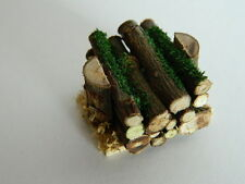 (HH3) DOLLS HOUSE HANDMADE STACK OF LOGS