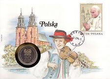Numisbrief - Münzbriefe aus aller Welt - Polska / Polen