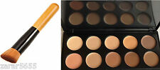 10 Colors Camouflage & Concealer Face Makeup Cream Palette with Brush set