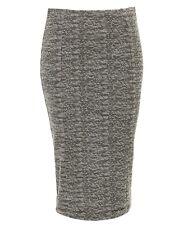 NEW sportsgirl textured midi skirt black & white sz S free post