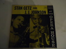 Stan Getz And J.J. Johnson – At The Opera House - Verve Records - Vinyl LP