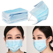 New Anti-Dust  Surgical Mask Disposable Medical Earloop Mouth Face Mask 50PCs