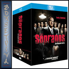 THE SOPRANOS - THE COMPLETE SERIES BOXSET   **BRAND NEW BLURAY REGION FREE**