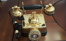 Vintage Rotary Telephone Retro French Victorian Style Bellsouth western electric