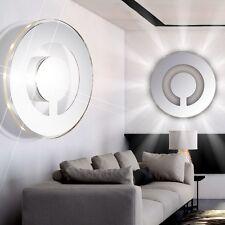 LUXUS LED RUND WANDLEUCHTE WANDLAMPE WANDSTRAHLER WANDFLUTER FLUR-LAMPE LEUCHTE