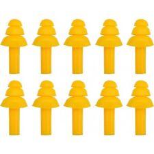 5 Paar = 10x SILIKON Ohrenstöpsel Gehörschutzstöpsel Lärmschutz Ohr-Stöpsel BAU