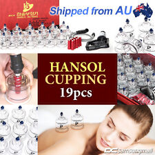 Genuine Hansol cupping set 19 cups for slimming, vacuum massage and Acupuncture