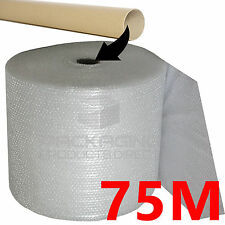 SMALL QUALITY BUBBLE WRAP 500mm x 75m Roll FULL ROLL Removal Storage Bubble
