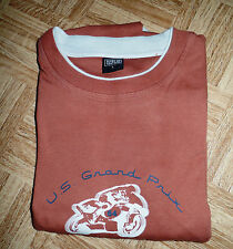 Herren - Shirt  hellbraun mit Aufdruck Gr. L