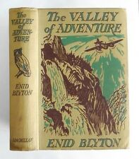 THE VALLEY OF ADVENTURE by ENID BLYTON (1947) - 1st Edition - SIGNED